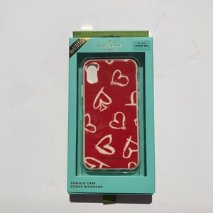 Kate spade scattered hearts phone case iPhone X/XS